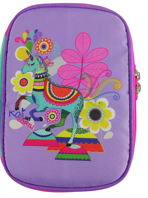 Kai Earth Magical Unicorn XL Pencil Case
