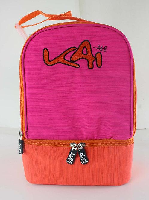 Kai Essentials Lunch Box - Pink & Orange