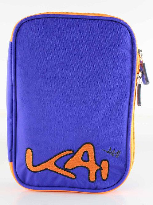 Kai Essentials Large Pencil Case - Blue