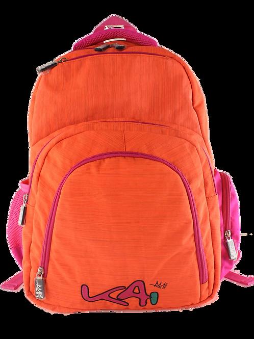 Kai Essentials Backpack - Orange & Pink
