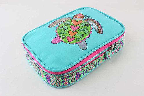 Kai Earth bubbly Turtle XL Pencil Case