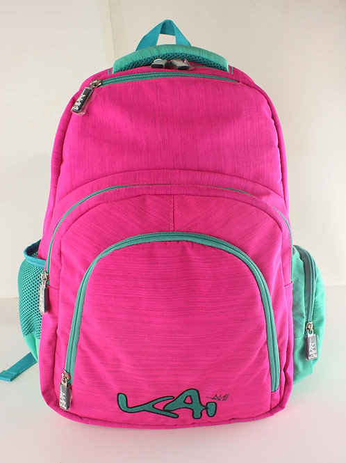 Kai Essentials Backpack - Pink & Turquoise