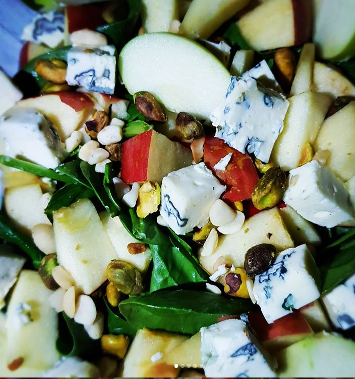 A.B.C (Apples, Blue Cheese, and Candied Nuts)