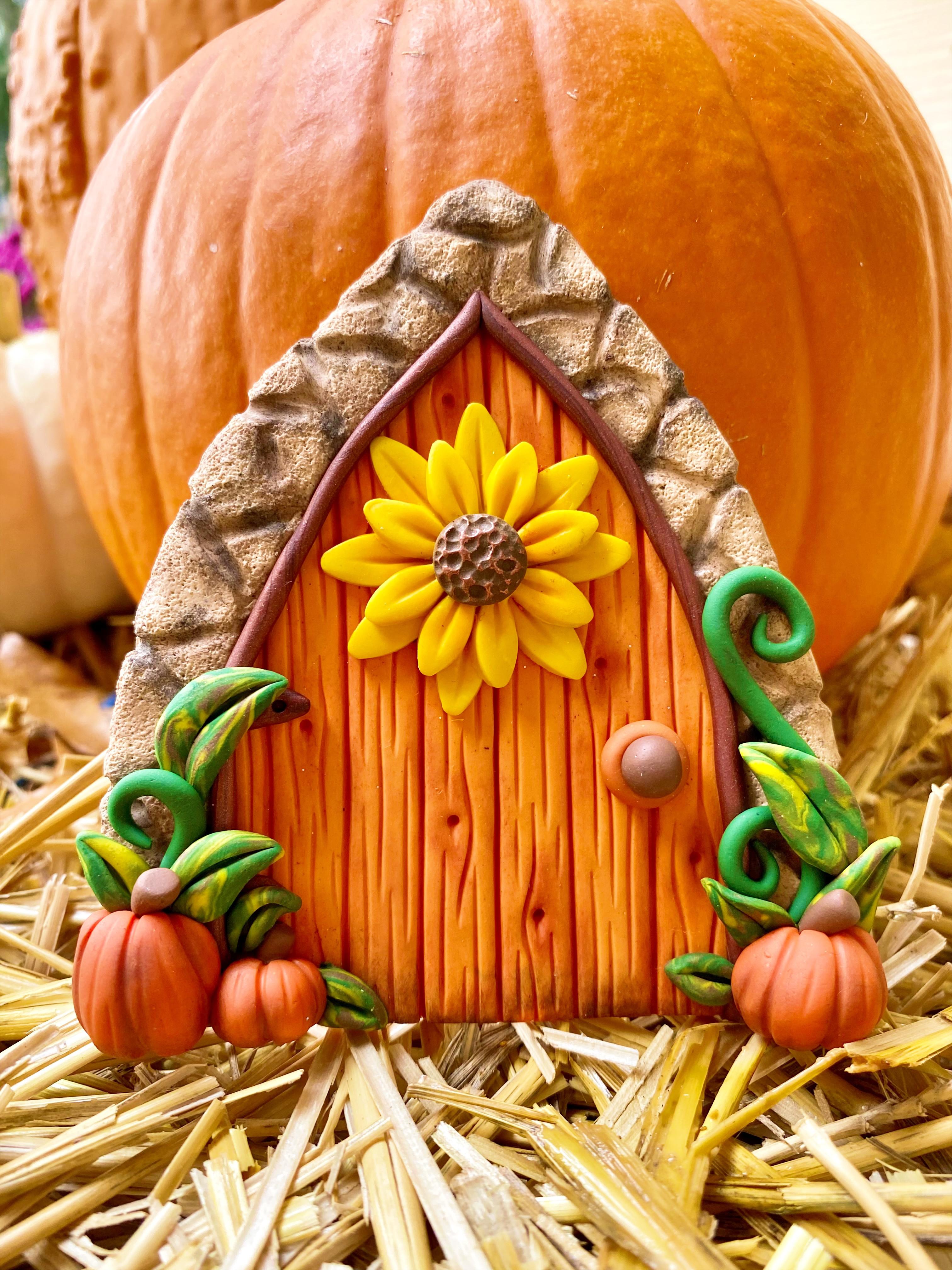 Autumn Door: Polymer Clay Class
