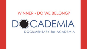 'DO WE BELONG?' wins first place at docademia