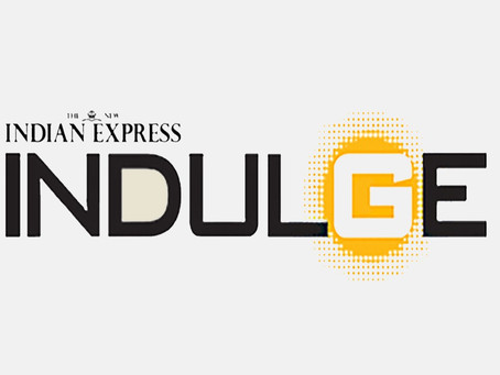 'CAGE' FEATURED BY INDIAN EXPRESS