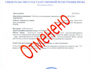 В России перестали выдавать свидетельства о праве на недвижимость