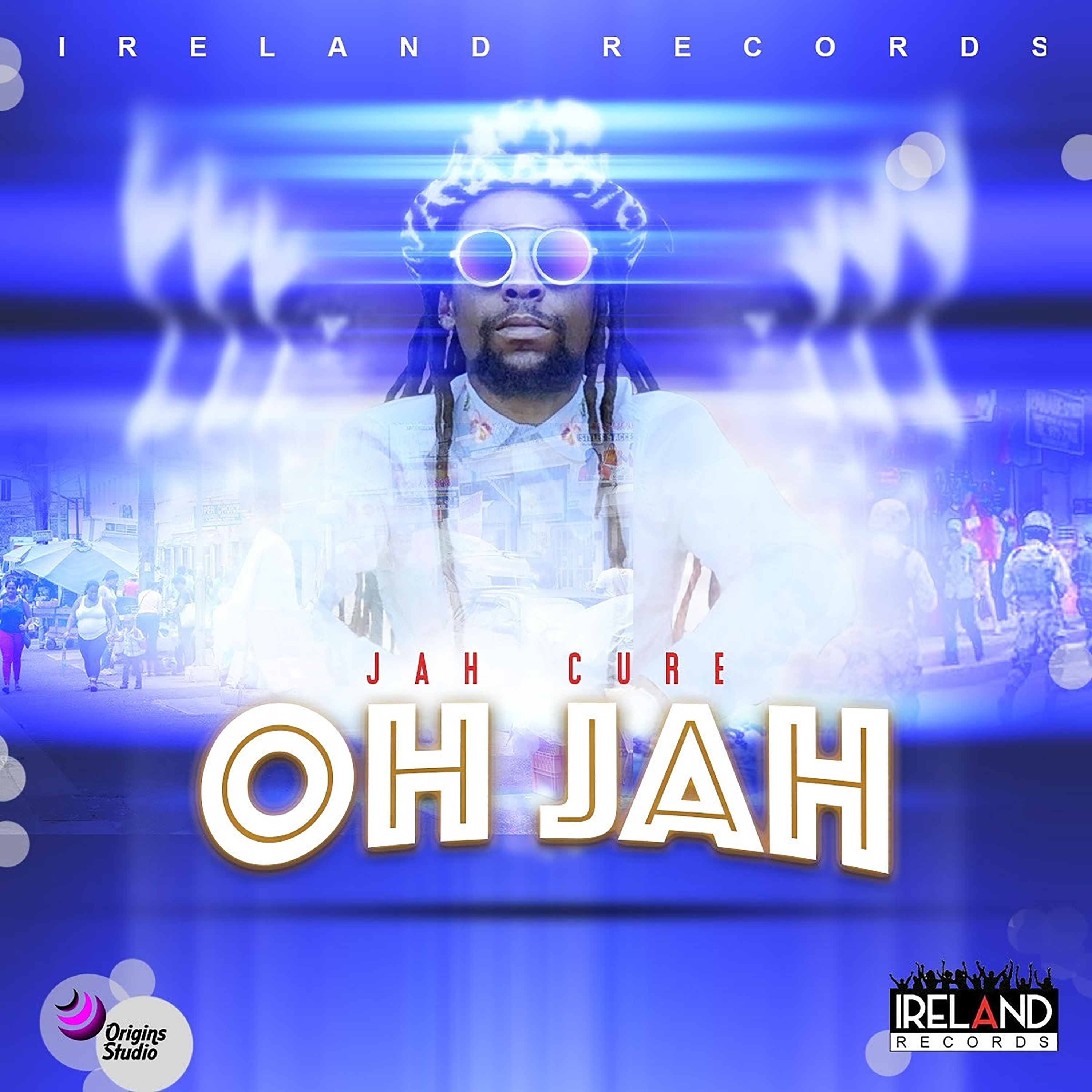 Jah Cure - Oh Jah (Stand Up) - Artwork