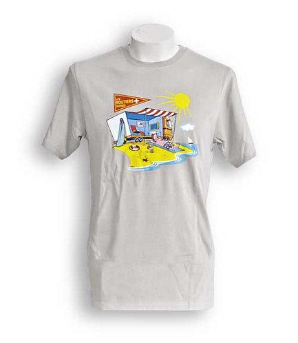 T-Shirt mit gedruckt Design Ferien