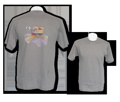 T-Shirt mit gedruckt Design