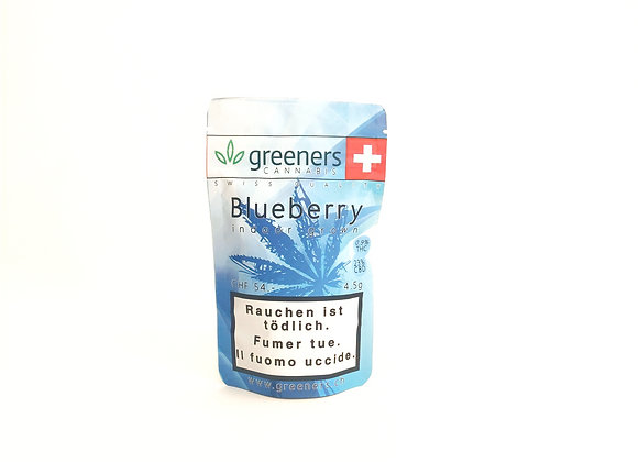 CBD Greeners Blueberry 4.5g