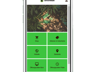 Stayhigh App out now!
