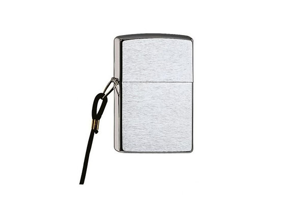 Zippo Lossproof Chrome Brushed