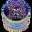 """Thumbnail: Grinder """"Floral Skull"""", 4-tlg., 4,4 cm x 5 cm"""