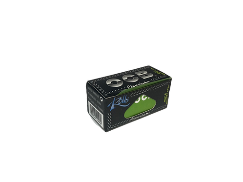 OCB Rolls Premium, 400cm dünnes, qualitativ hochwertiges Zigarettenpapier aus Frankreich. Ocb Premium Rolls Slim. OCB Rips