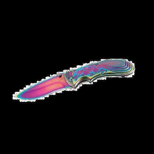 Einhandmesser Eden - Rainbow