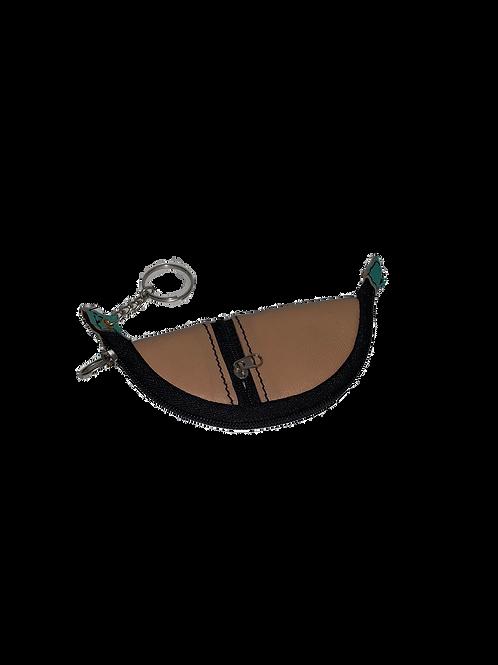 Bauunterlagen Leder Schlüsselanhänger