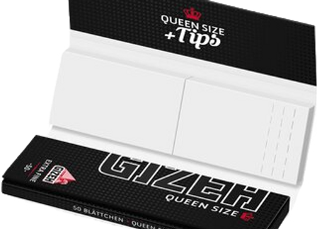 GIZEH Black Queen Size + Tips