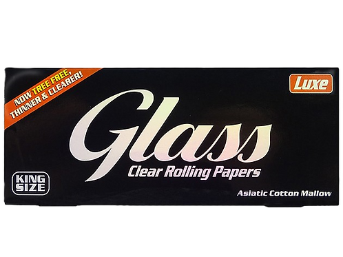 Luxe Glass Cellulose Papers King Size je 40 Blatt