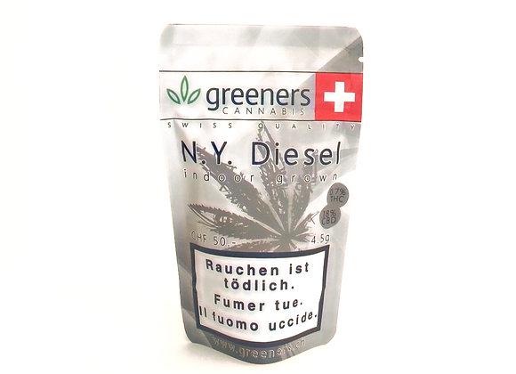 CBD Greeners New York Diesel 4.5g