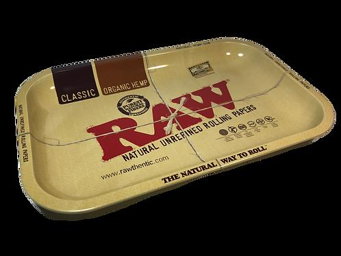 "Metal Rolling Tray ""RAW"" 12.5x18cm"