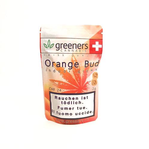 CBD Greeners Orange Bud 2g