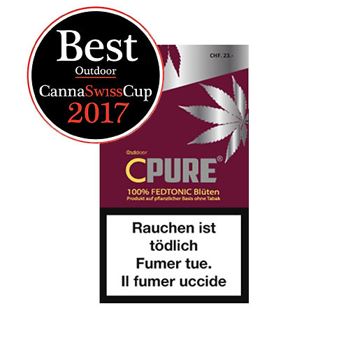 CBD CPURE Fedtonic Outdoor 5g