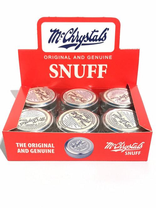 Mc Chrystal Snuff Tin 4.4g