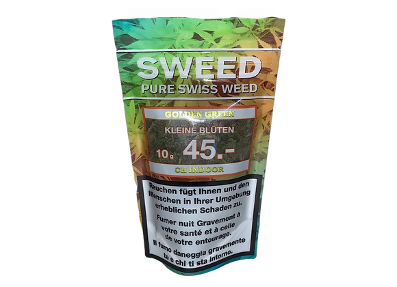 Sweed CBD Golden Green 10g
