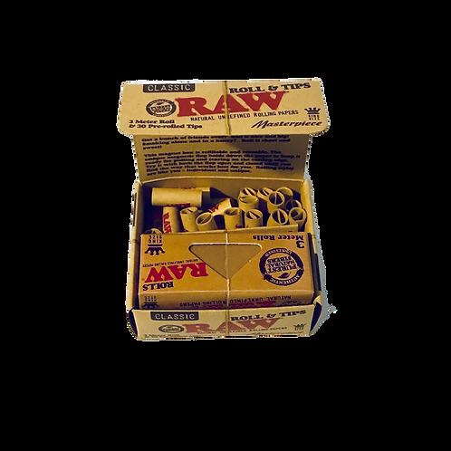 Raw Rolls + Filter