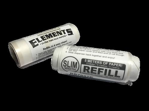 Element Rolls Refill Slim bestechen nicht nur durch die Feinheit des Papers sondern auch durch ihre perfekte Breite.