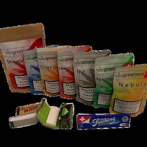 Greeners CBD Pack über 20g