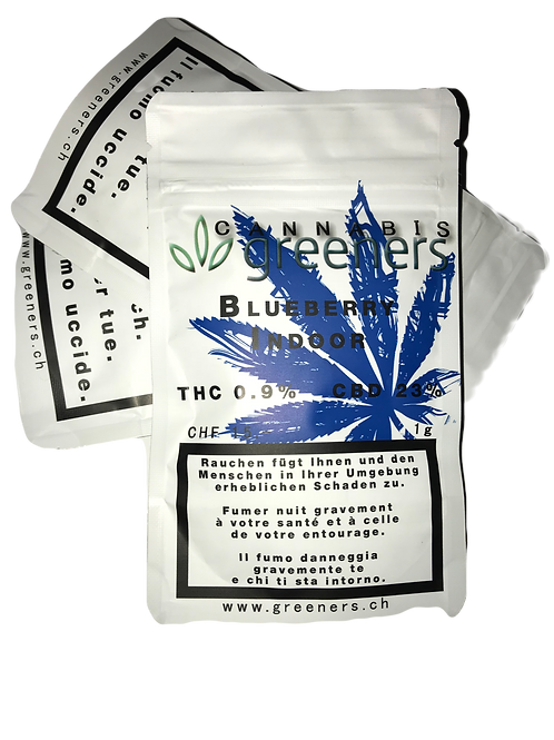CBD Greeners Blueberry 1g