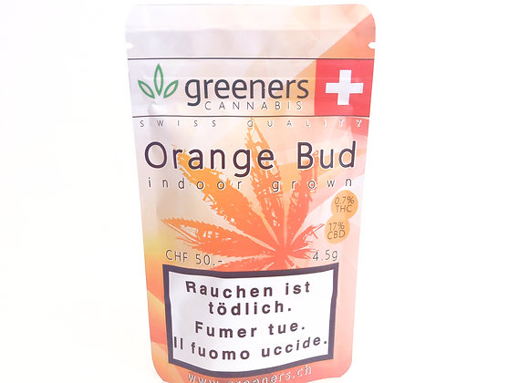 CBD Greeners Orange Bud 4.5g