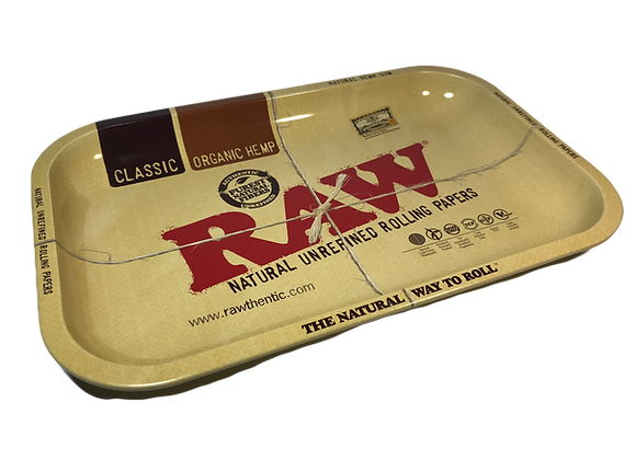 Metal Rolling Tray RAW 33x27.5cm