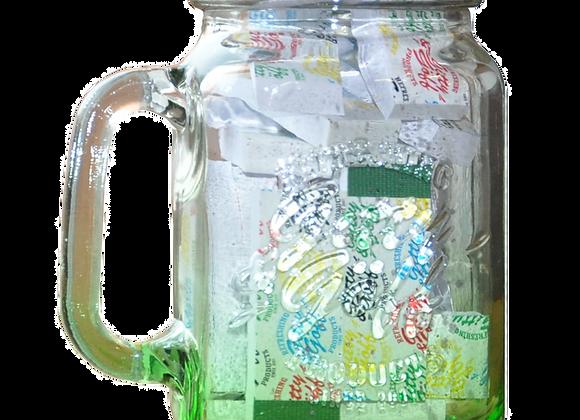 Gitty & Göff Filter im Glas Grün