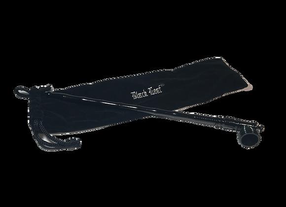 Schraubpfeife schwarz 30cm