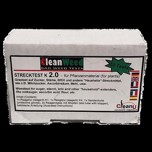 Clean Weed Strecktest K2.0