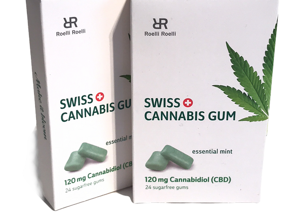 Swiss Cannabis Gum 120mg CBD
