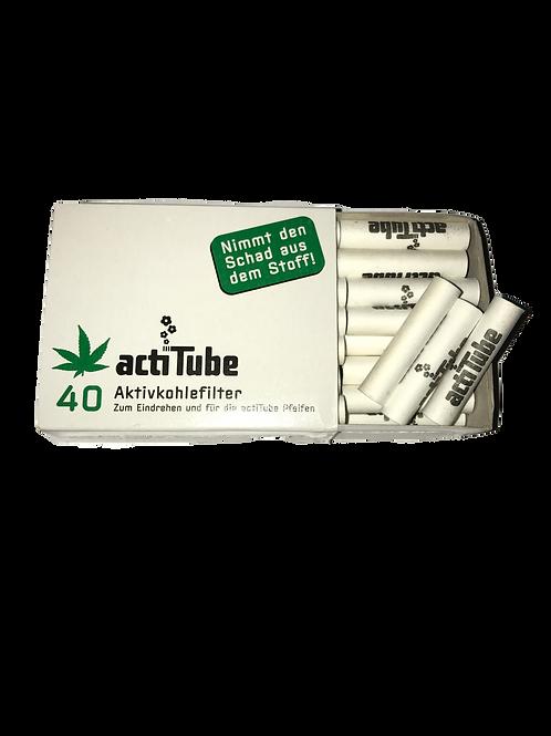 Acti Tube Aktivkohlenfilter 40 Stk.