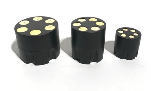 grinder revolvertrommel 3 tlg mittel stayhighswiss. Black Bedroom Furniture Sets. Home Design Ideas