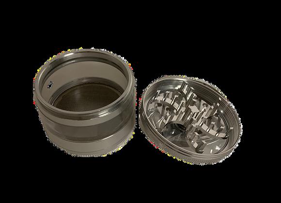 Metallgrinder mit Kurbel 3-tlg 75mm/H100mm
