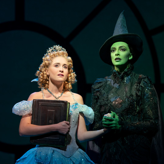 Elphaba in WICKED