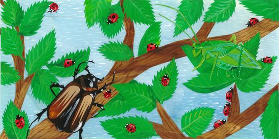 Jolly, Kind Ladybugs