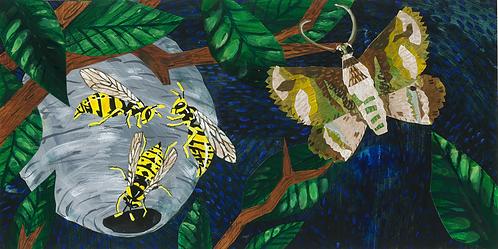 An Insect Alphabet - Yellowjackets Zzz...