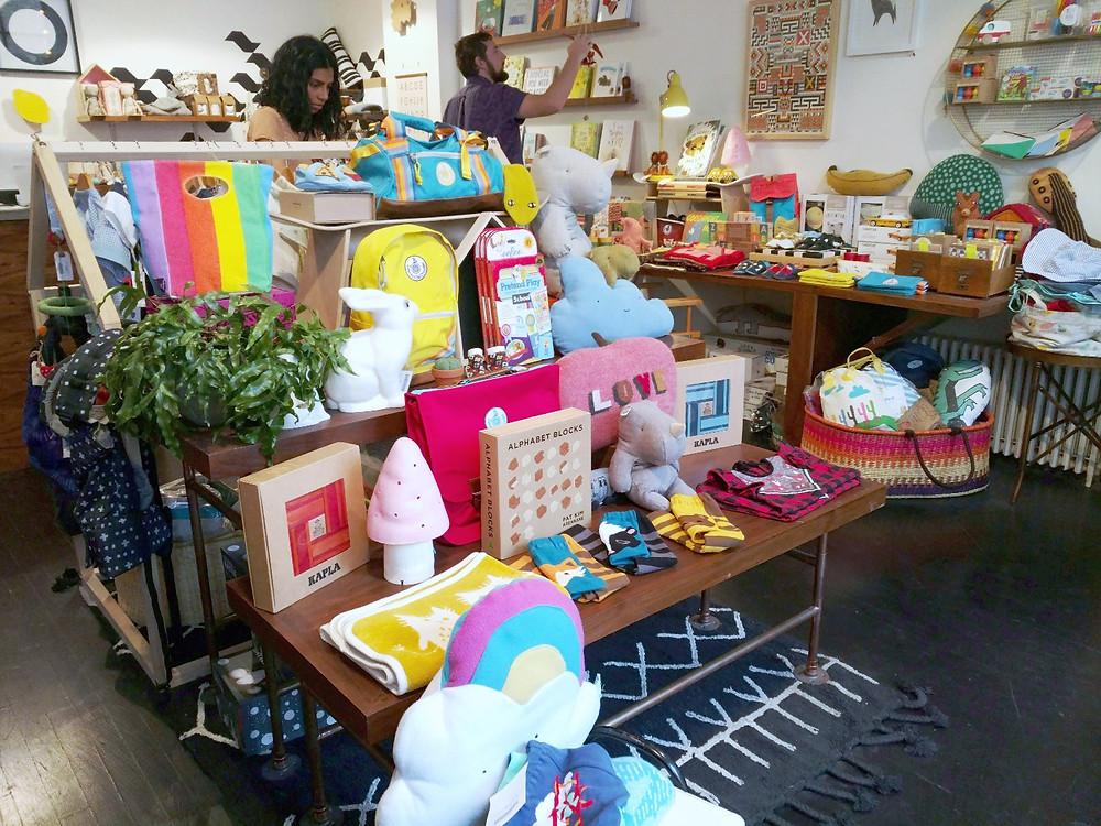 Geometry KIDS, boutique children's shop, bookshop