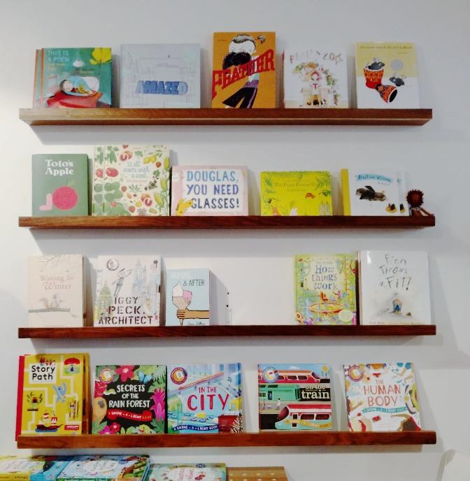 Geometry KIDS book rack