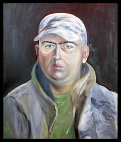 """Portrait of a boy"", 46x55cm"