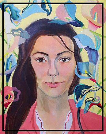 Self-portrait Vladimir Dimitrov style