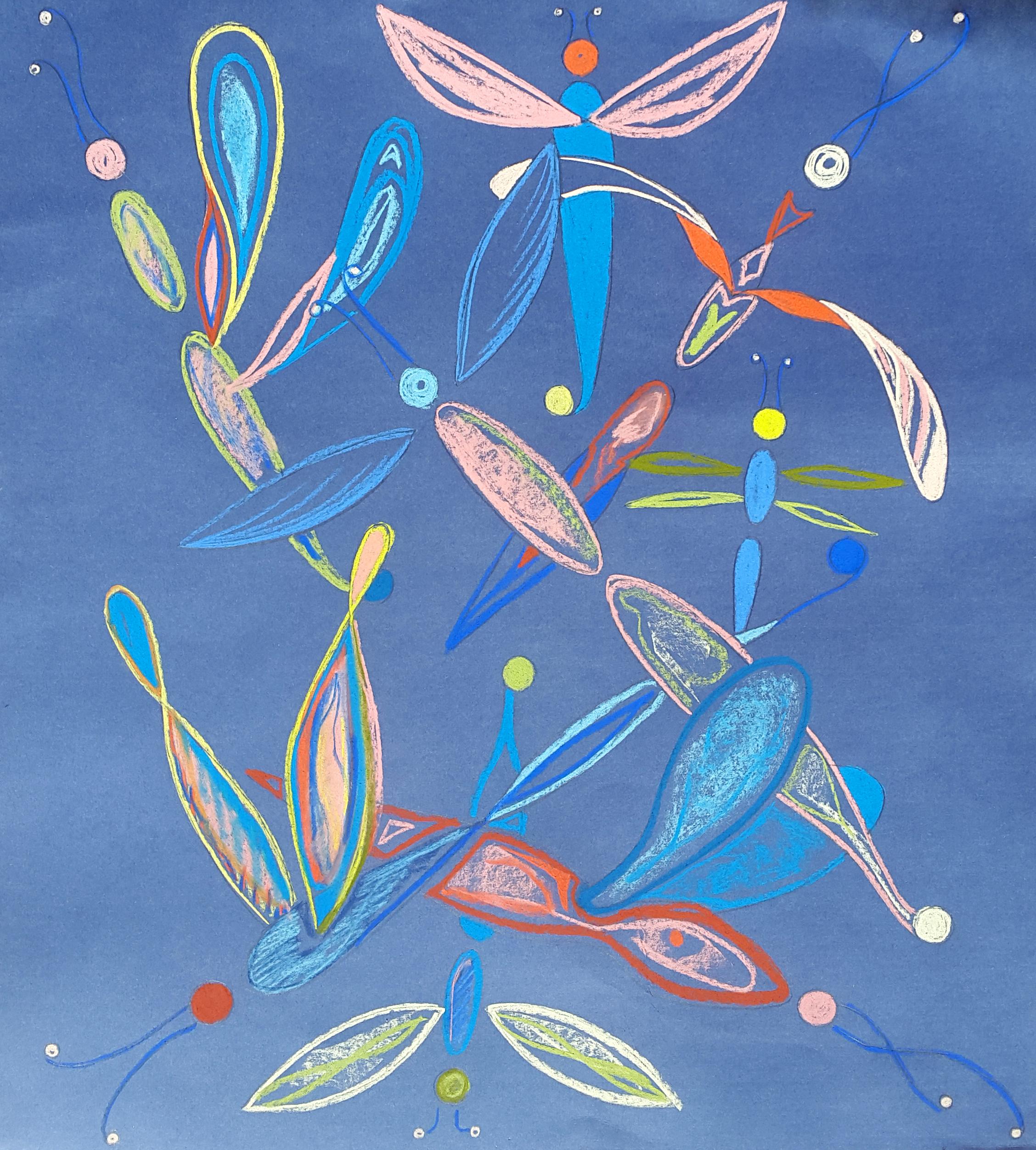 """""""Butterflies"""", 46x55cm"""